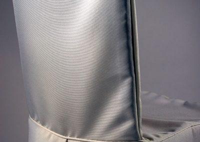 Custom Chair Cover - White
