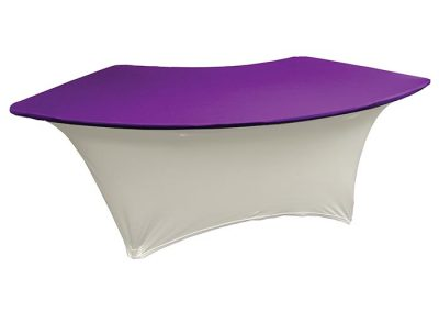 Fitted Serpentine Table Cover