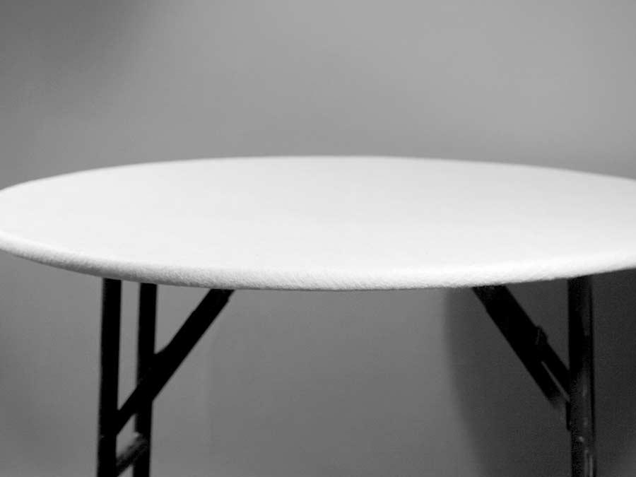 Felt Table Pad With Elastic Round