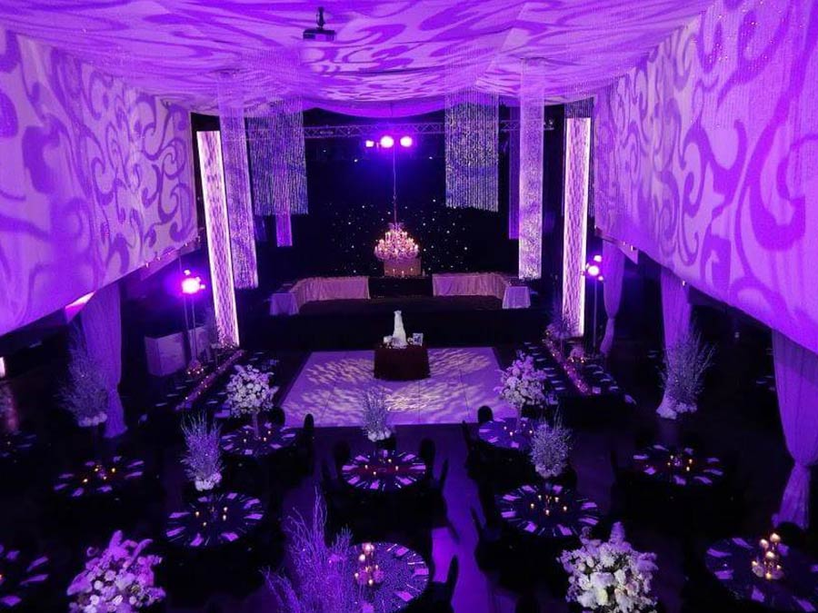 Ideal Wedding and Events- Event Draping (after)