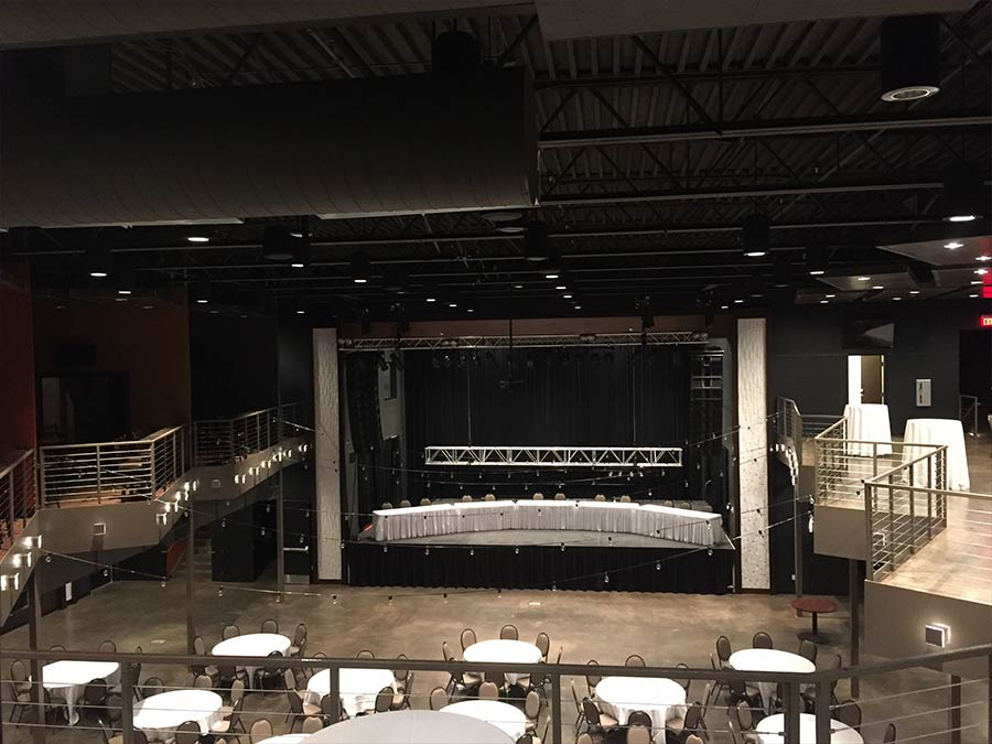 Ideal Wedding and Events - Auditorium (before)
