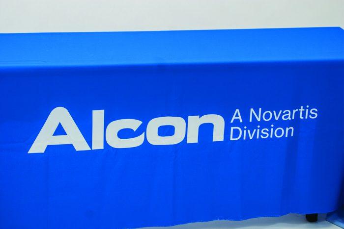 Alcon Logo Cloth - Table Throw
