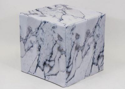 Marble Ottoman Cover