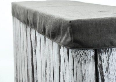 White Wood Bar / Panama Charcoal Cap