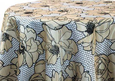 Big Lace Floral - Buttercup