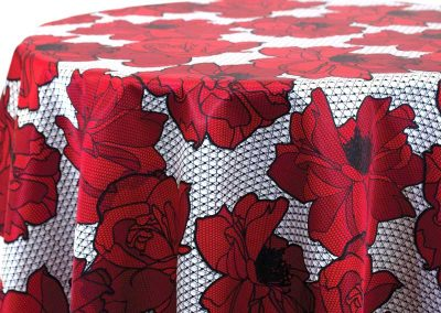 Big Lace Floral - Red