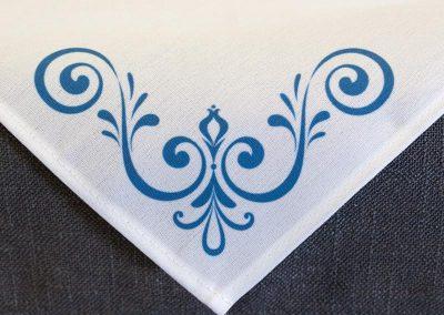 Engineered Napkin - Scroll