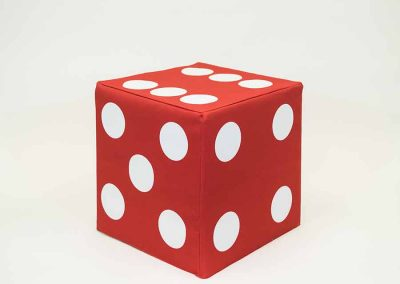 Block Cover - Red Dice