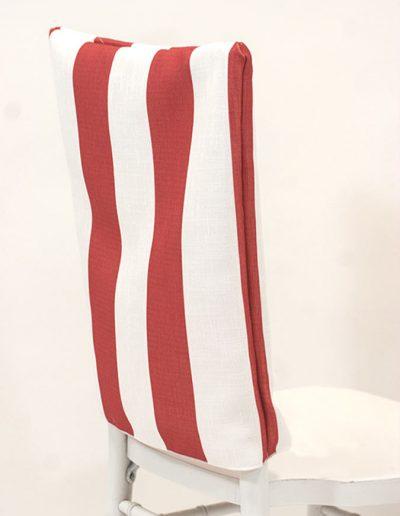 Chair Back - Clay Hudson Stripe