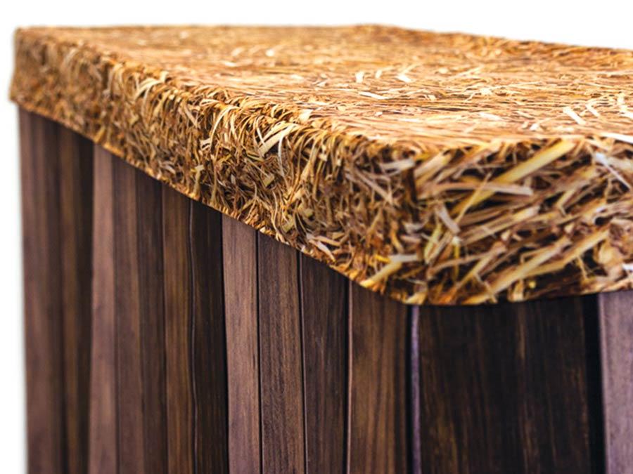 Bar Cover - Dark Wood Bar / Hay Cap