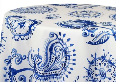 Country French Paisley - White