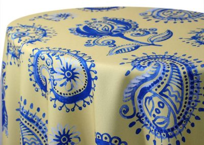 Country French Paisley - Yellow