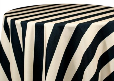 Hudson Stripe - Black / Cream