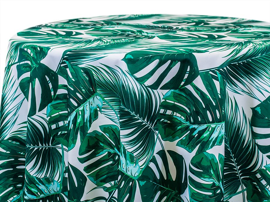 Frond - Green on White