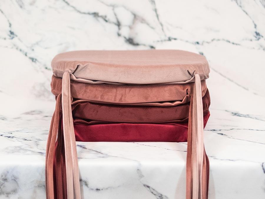 Reversible Seat Cushions Velvet